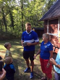 Erik, Barbro och beundrande barn