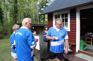 "Barbro W, Nils-Åke ""Nojen"" Johansson, Erik Broström"